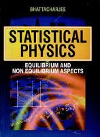 Statistical Physics PDF