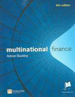 Multinational Finance PDF