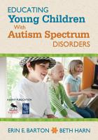 Educating Young Children With Autism Spectrum Disorders PDF