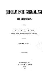 Nederlandsche spraakkunst met oefeningen: etymologie, Volume 1