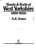 Roads & Rails of West Yorkshire, 1890-1950