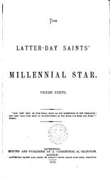 The Latter Day Saints Millennial Star Book PDF