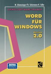 Vieweg Software-Trainer Word für Windows 2.0