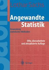 Angewandte Statistik: Ausgabe 11