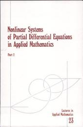 Nonlinear Systems of Partial Differential Equations in Applied Mathematics: Page 2