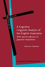 A Cognitive Linguistic Analysis of the English Imperative