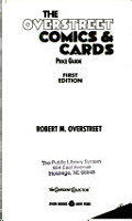 The Overstreet Comics   Cards Price Guide PDF
