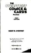 The Overstreet Comics Cards Price Guide