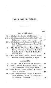 Études sur l'École française (1831-1852): Peinture et sculpture, Volume2