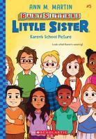 Karen s School Picture  Baby Sitters Little Sister  5  PDF