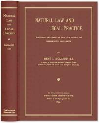 Natural Law And Legal Practice Book PDF