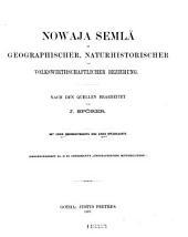 Petermanns geographische Mitteilungen: Ergänzungsheft, Ausgaben 21-25