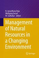 Management of Natural Resources in a Changing Environment PDF