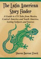 The Latin American Story Finder PDF