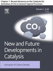New and Future Developments in Catalysis: Chapter 7. Recent Advances on the Catalysts for Activation of CO2 in Several Typical Processes