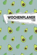 Wochenplaner Avocado Muster PDF