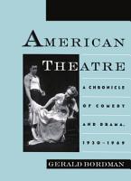 American Theatre PDF
