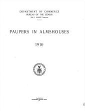 Paupers in almhouses, 1910