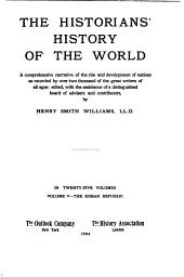 The Historians' History of the World: The Roman republic