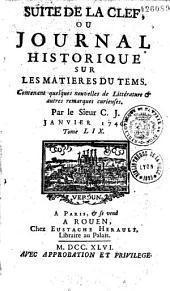 Journal historique et littéraire