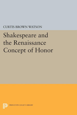 Shakespeare and the Renaissance Concept of Honor