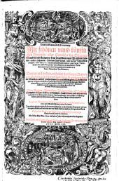Neuw vollkommentlich Kreuterbuch: mit schönen unnd künstlichen Figuren aller Gewächs der Bäumen, Stauden und Kräutern, so in teutschen und welschen Landen, auch in Hispanien ... wachsen, derer über 3000 eygentlich beschrieben werden, auch deren Unterscheidt und Wirckung ... angezeigt werden ...