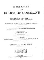 Debates of the House of Commons of the Dominion of Canada: Volume 2
