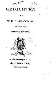 Gedichten van Mr. H. A. Spandaw: Volume 2