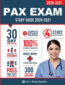 PAX Exam Study Guide Book