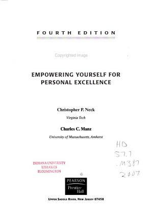 Mastering Self leadership