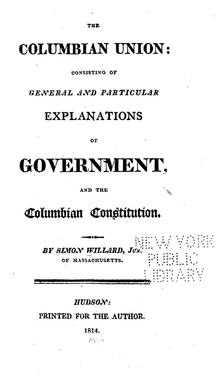 The Columbian Union