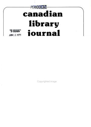 Canadian Library Journal