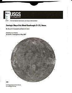 Geologic Map of the Mead Quadrangle  V 21   Venus