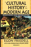 A Cultural History of the Modern Age Vol  1 PDF