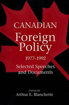 Canadian Foreign Policy  1977 1992