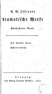 A. W. Ifflands dramatische werke: Band 16