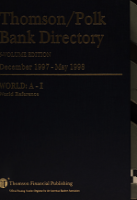 Thomson Polk Bank Directory PDF