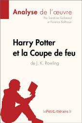 Harry Potter et la Coupe de feu de J. K. Rowling (Analyse de l'oeuvre): Comprendre la littérature avec lePetitLittéraire.fr