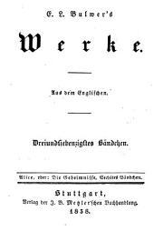 Alice, oder die Geheimnisse: Fortsetzung von Ernst Maltravers, Band 6