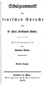 Schulgrammatik der deutschen Sprache