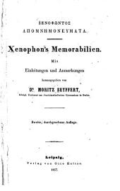 Xenophōntos Apomnēmoneumata: Xenophon's Memorabilien
