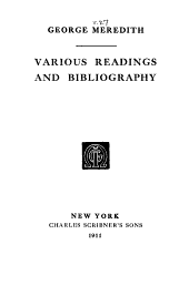 The Works of George Meredith: Volume 27