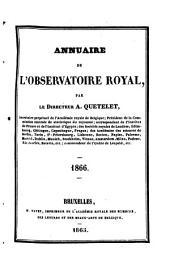 Annuaire de l'Observatoire royal de Bruxelles: Volume33
