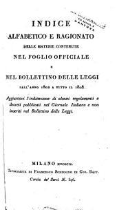 Bollettino delle leggi del regno d'Italia