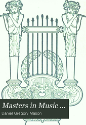 Masters in Music ...
