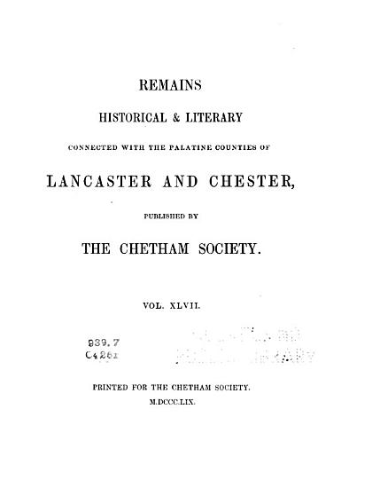 A History of the Ancient Chapel of Birch PDF