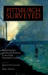Pittsburgh Surveyed: Social Science and Social Reform in the Early Twentieth Century