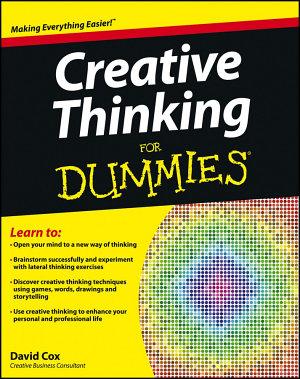 Creative Thinking For Dummies