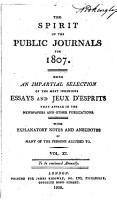 The Spirit of the Public Journals PDF