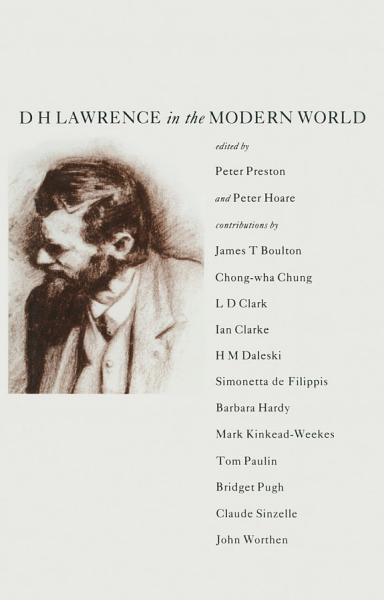 Download D  H  Lawrence in the Modern World Book